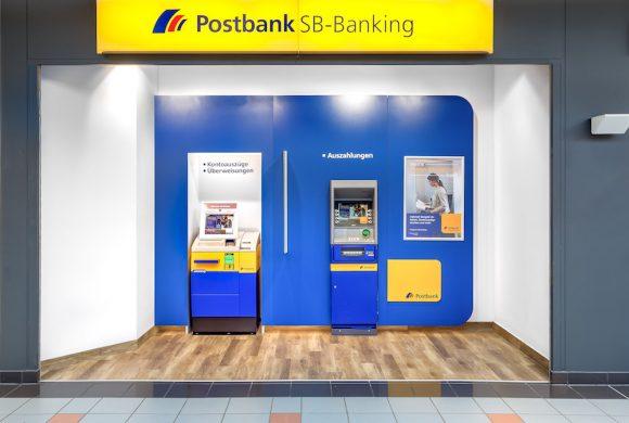 Service Center der Postbank im Einkaufspark