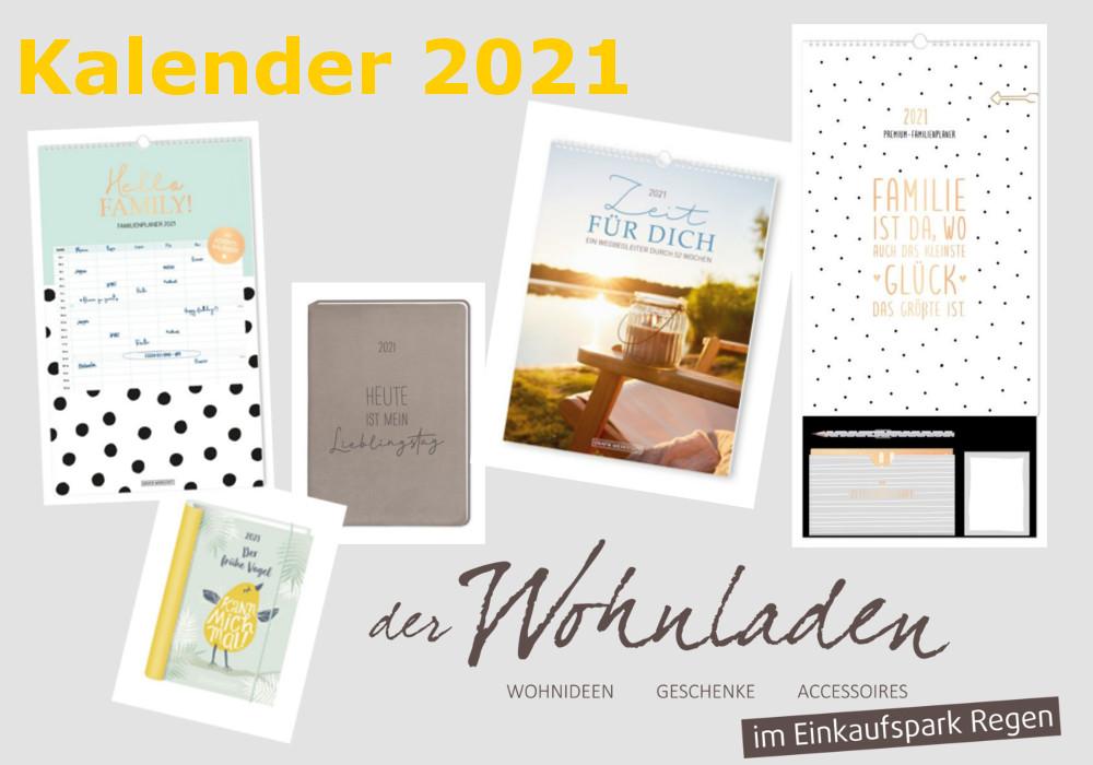 Kalender 2021 eingetroffen