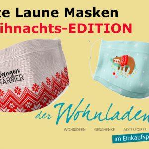 Gute Laune Maske – WEIHNACHtS-EDITION